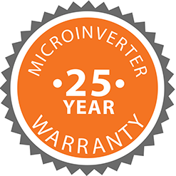 Microinverter 25 Year Warranty